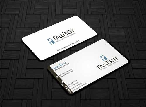 For construction and Industrial Safety  Business Cards and Stationery  Draft # 136 by Dawson