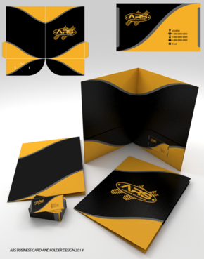 revamp of logo,signage design,folder design
