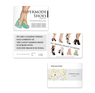 Supermode shoes Marketing collateral  Draft # 87 by benylimdesign