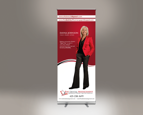 6ft Vertical Banner for Tradeshow Marketing collateral  Draft # 19 by gugunte