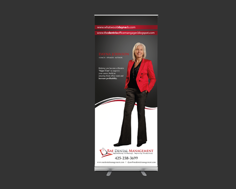 6ft Vertical Banner for Tradeshow Marketing collateral  Draft # 20 by gugunte