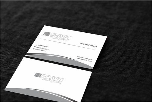 Modern, Luxurious Business Cards and Stationery  Draft # 128 by Dawson