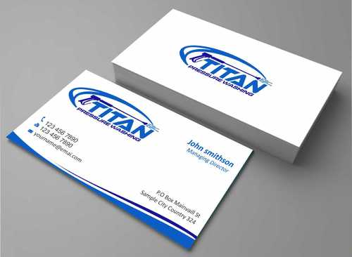 Commercial and Residential Business Cards and Stationery  Draft # 161 by Dawson