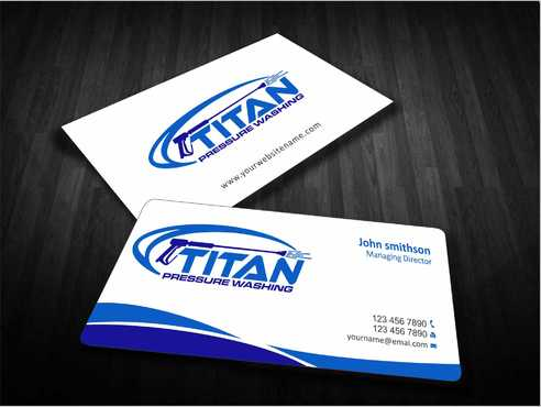 Commercial and Residential Business Cards and Stationery  Draft # 162 by Dawson