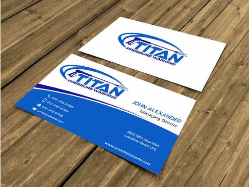 Commercial and Residential Business Cards and Stationery  Draft # 163 by Dawson