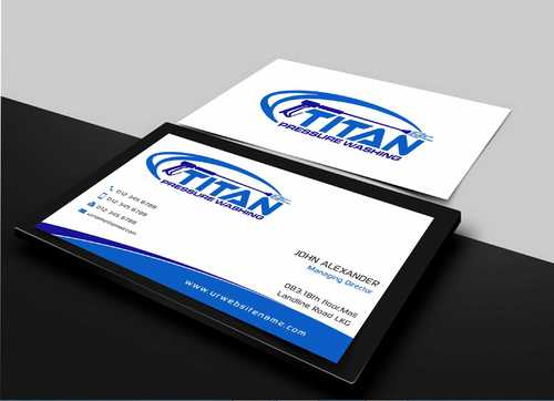 Commercial and Residential Business Cards and Stationery  Draft # 164 by Dawson