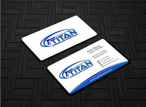 Commercial and Residential Business Cards and Stationery  Draft # 166 by Dawson