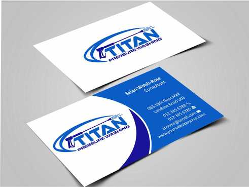 Commercial and Residential Business Cards and Stationery  Draft # 175 by Dawson