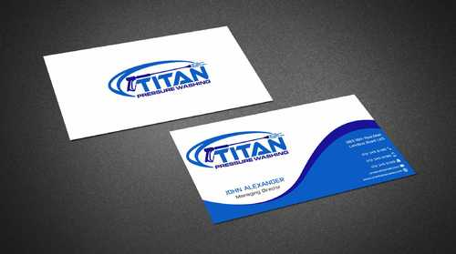 Commercial and Residential Business Cards and Stationery  Draft # 181 by Dawson