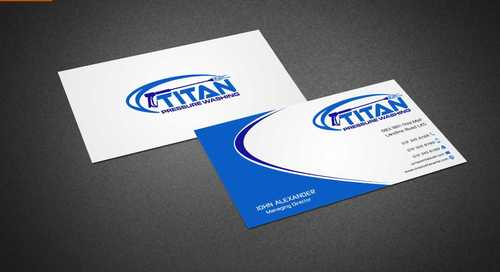 Commercial and Residential Business Cards and Stationery  Draft # 182 by Dawson