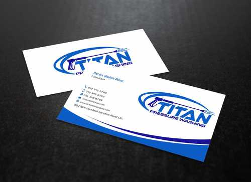 Commercial and Residential Business Cards and Stationery  Draft # 187 by Dawson