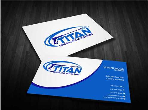 Commercial and Residential Business Cards and Stationery  Draft # 196 by Dawson