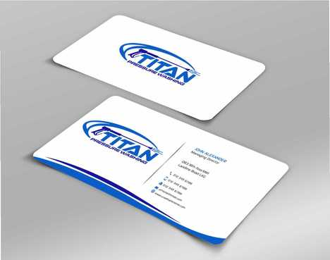 Commercial and Residential Business Cards and Stationery  Draft # 204 by Dawson