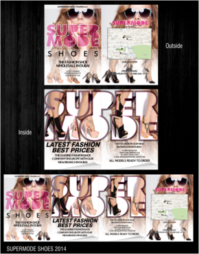 Supermode shoes Marketing collateral  Draft # 97 by thebullet