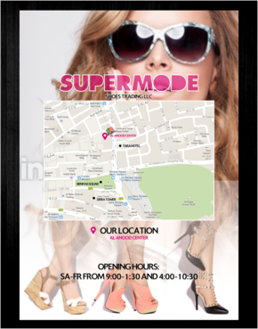 Supermode shoes Marketing collateral  Draft # 104 by thebullet