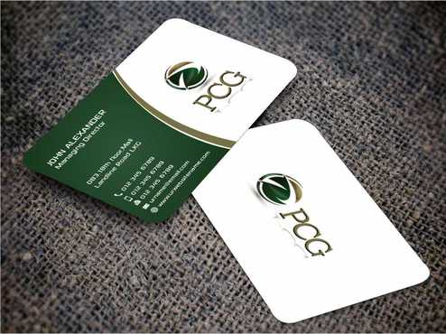 PCG Cards Business Cards and Stationery  Draft # 284 by Dawson