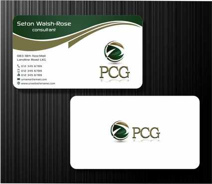 PCG Cards Business Cards and Stationery  Draft # 288 by Dawson