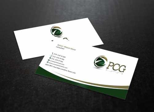 PCG Cards Business Cards and Stationery  Draft # 289 by Dawson