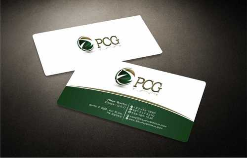 PCG Cards Business Cards and Stationery  Draft # 290 by Dawson