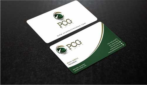 PCG Cards Business Cards and Stationery  Draft # 291 by Dawson