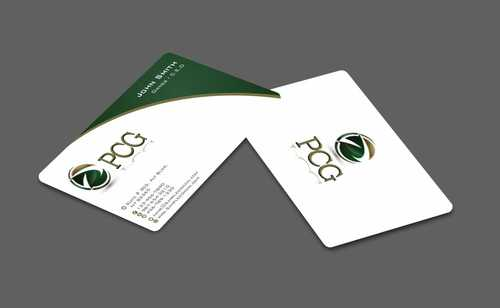PCG Cards Business Cards and Stationery  Draft # 292 by Dawson