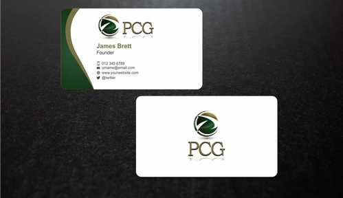 PCG Cards Business Cards and Stationery  Draft # 294 by Dawson