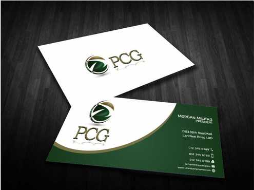 PCG Cards Business Cards and Stationery  Draft # 296 by Dawson