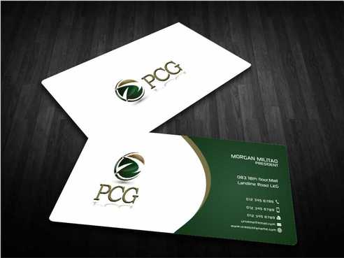PCG Cards Business Cards and Stationery  Draft # 297 by Dawson