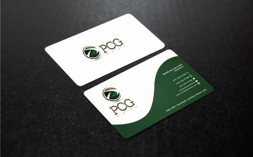 PCG Cards Business Cards and Stationery  Draft # 298 by Dawson