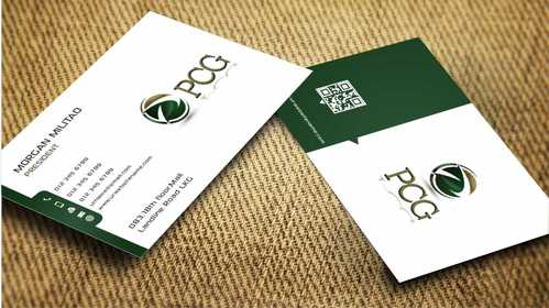 PCG Cards Business Cards and Stationery  Draft # 301 by Dawson