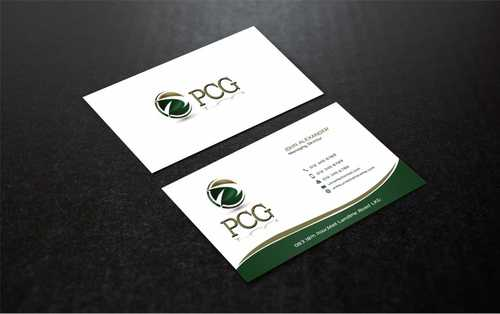 PCG Cards Business Cards and Stationery  Draft # 307 by Dawson