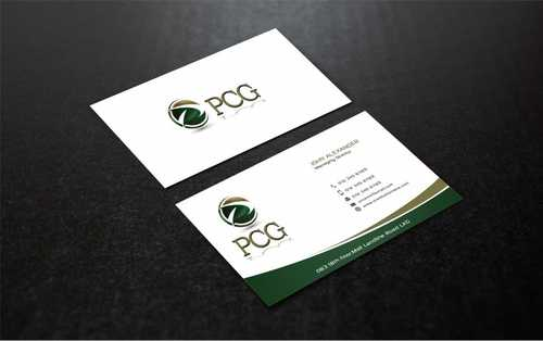 PCG Cards Business Cards and Stationery  Draft # 308 by Dawson