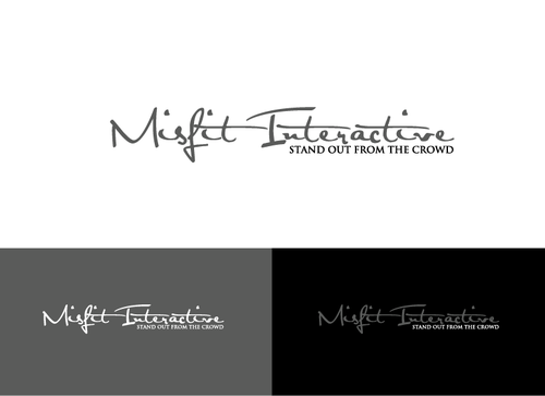 Misfit Interactive A Logo, Monogram, or Icon  Draft # 54 by JohnAlber