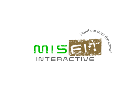 Misfit Interactive A Logo, Monogram, or Icon  Draft # 58 by pivotal
