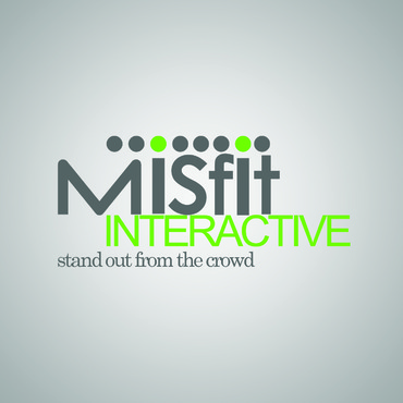 Misfit Interactive A Logo, Monogram, or Icon  Draft # 61 by Jolteon