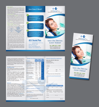 AVS Dental Plan Marketing collateral  Draft # 9 by inovatedesign