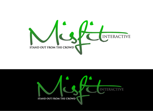 Misfit Interactive A Logo, Monogram, or Icon  Draft # 68 by JohnAlber