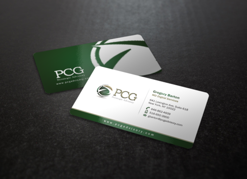 PCG Cards Business Cards and Stationery Winning Design by einsanimation