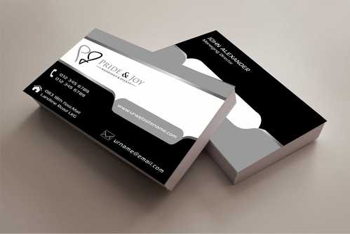 Pride & Joy Business Cards and Stationery  Draft # 80 by Dawson