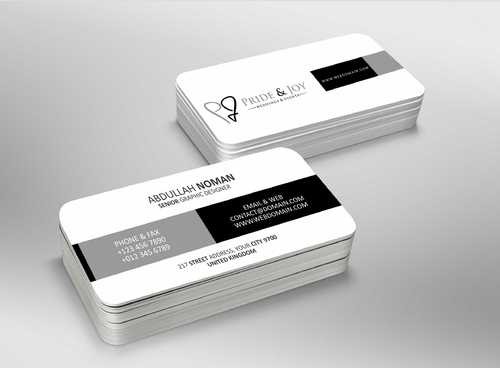 Pride & Joy Business Cards and Stationery  Draft # 85 by Dawson