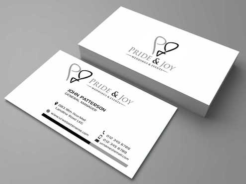 Pride & Joy Business Cards and Stationery  Draft # 95 by Dawson