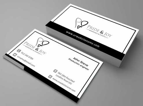 Pride & Joy Business Cards and Stationery  Draft # 96 by Dawson