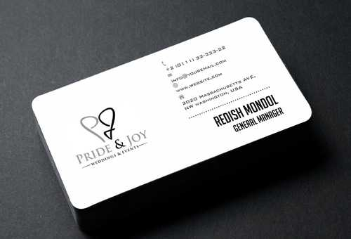 Pride & Joy Business Cards and Stationery  Draft # 97 by Dawson