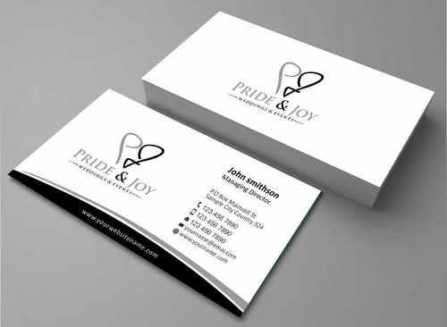 Pride & Joy Business Cards and Stationery  Draft # 99 by Dawson