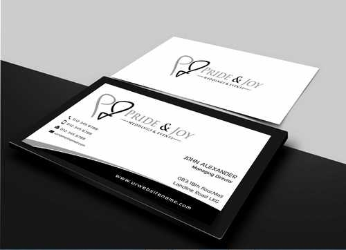 Pride & Joy Business Cards and Stationery  Draft # 103 by Dawson