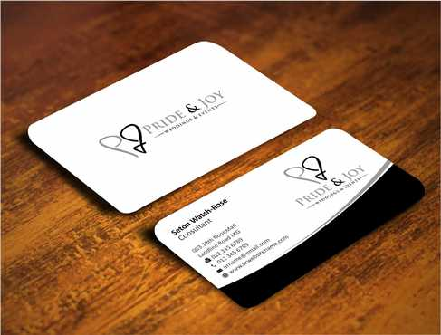 Pride & Joy Business Cards and Stationery  Draft # 106 by Dawson
