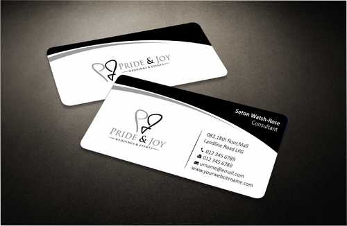 Pride & Joy Business Cards and Stationery  Draft # 107 by Dawson