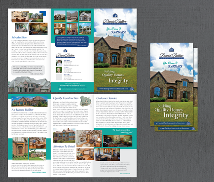 David Patton Construction LLC Marketing collateral  Draft # 11 by Achiver