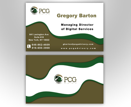 PCG Cards Business Cards and Stationery  Draft # 540 by NooraldenFalah