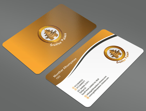 Golden Palace Restaurant Business Cards and Stationery  Draft # 70 by ArtworksKingdom
